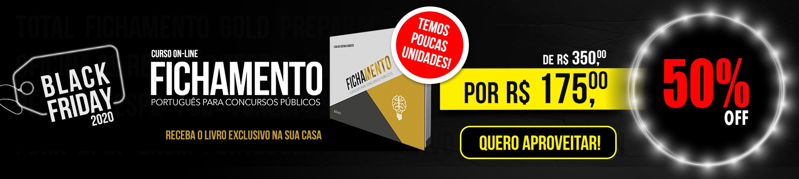 [Black Friday Fichamento 50%]