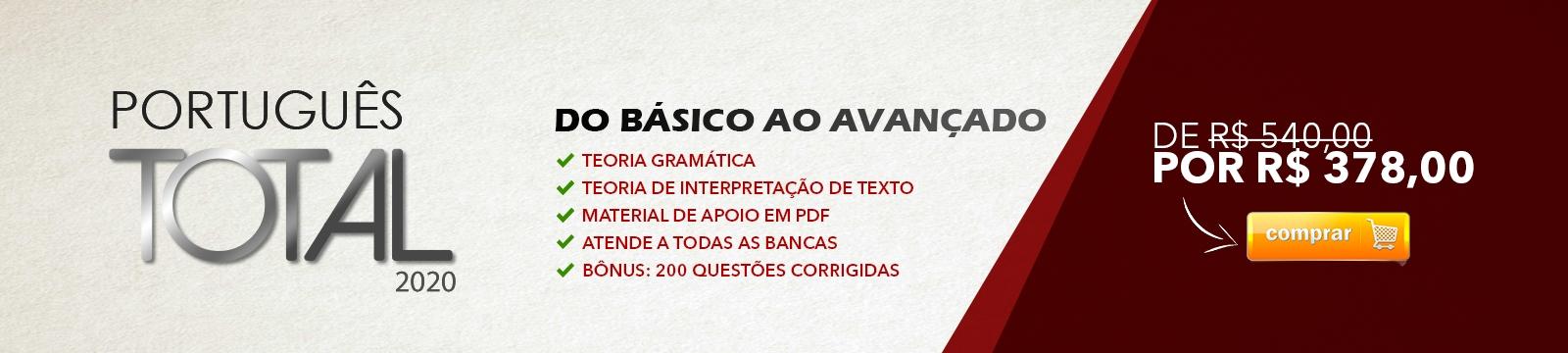 [Português Total Genérico com 30%]