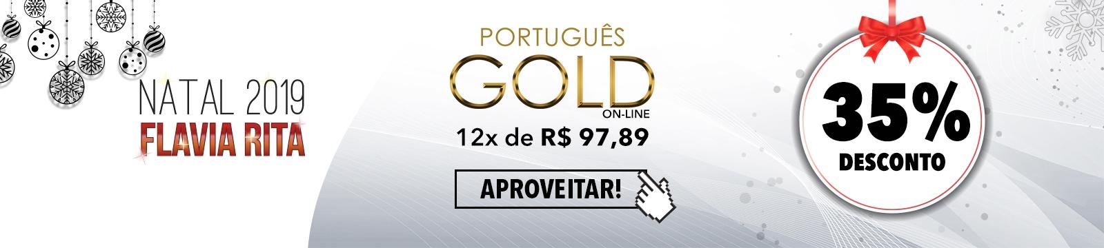 [Campanha Natal 2019 - GOLD On-line]
