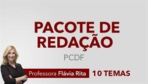 [Pacote de Correção para PCDF (Polícia Civil do Distrito Federal): 10 Temas - (Inclui a correção, redação modelo e baliza)]