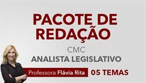 [Pacote de Redação para o concurso da Câmara Municipal de Curitiba CMC / UFPR - Analista Legislativo - Professora Flávia Rita]