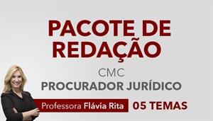 [Pacote de Redação para o concurso da Câmara Municipal de Curitiba CMC / UFPR - Procurador Jurídico - Professora Flávia Rita]