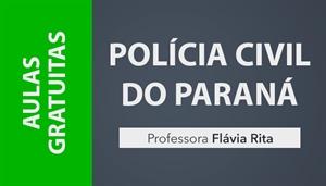 [AULAS GRATUITAS: Português para PCPR - Professora Flávia Rita]
