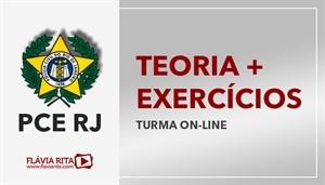 [Curso on-line de Teoria + Exercícios para o concurso da Polícia Civil do Rio de Janeiro - PCRJ - Instituto AOCP - Professora Flávia Rita]