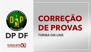 [Curso on-line de Exercícios/Correção de Provas para o concurso da Defensoria Pública do Distrito Federal - DP DF - CESPE - Professora Flávia Rita]
