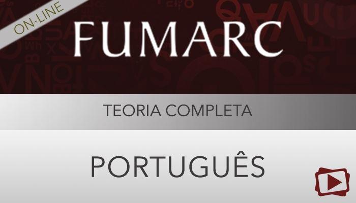 [Curso on-line: Português - Teoria Completa para Concursos Fumarc - Professora Flávia Rita]