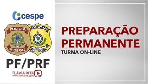 [Curso on-line Preparação Permanente para PF e PRF - CESPE/CEBRASPE 2020/2021 - Professora Flávia Rita]