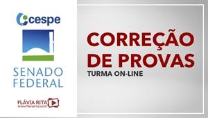 [Curso on-line de Exercícios/Correção de Provas para concursos do SENADO/CESPE ]