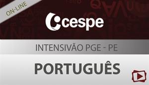 [Curso on-line: Intensivão de Português para o Concurso da PGE / Procuradoria Geral do estado de Pernambuco - CESPE - Professora Flávia Rita]