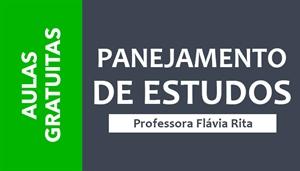 [Planejamento de estudos para concursos - Edição Especial - Professora Flávia Rita]