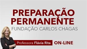 [Curso on-line: Português - Preparação Permanente para Concursos FCC 2019 - Professora Flávia Rita]