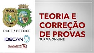 [Curso on-line de Português - Teoria + Exercícios para PCCE e PEFOCE / IDECAN - Professora Flávia Rita]