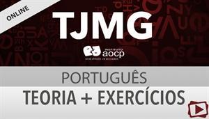 [Curso on-line: Português - Teoria + Exercícios para o concurso do Tribunal de Justiça de MG / TJMG 1ª Instância - Instituto AOCP - Professora Flávia Rita]
