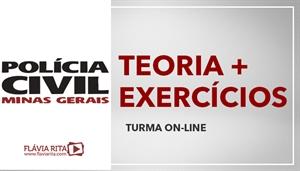 [Curso on-line de Português - Teoria + Exercícios para a Polícia Civil de Minas Gerais - PCMG/FUMARC - Professora Flávia Rita]
