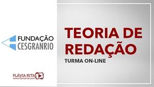 [Curso on-line de Teoria de Redação para Concursos com Texto Dissertativo - Banco do Brasil - BB/ CESGRANRIO]