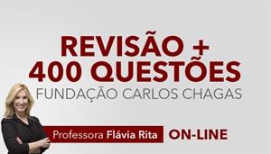 [Curso on-line: Português - Revisão + Correção de 400 Questões de Concursos FCC - Professora Flávia Rita]