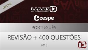 [Aula Gratuita: Português - Revisão + 400 questões para o concurso da Polícia Rodoviária Federal - PRF / CESPE 2018 - Professora Flávia Rita]