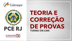 [Curso on-line de Português - Teoria + Exercícios para o Concurso da Polícia Civil do Rio de Janeiro-PCRJ/CEBRASPE - Professora Flávia Rita]