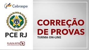 [Curso on-line de Exercícios/Correção de Provas de Português para concurso da Polícia Civil do Rio de Janeiro - PCRJ/CEBRASPE - Professora Flávia Rita]