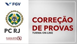 [Curso on-line de Exercícios/Correção de Provas de Português para concurso da Polícia Civil do Rio de Janeiro - PCRJ/FGV - Professora Flávia Rita]
