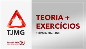 [Curso on-line de Teoria + Exercícios para o concurso do Tribunal de Justiça de Minas Gerais - TJMG - 1ª (Instituto AOCP) e 2ª (IBFC)]