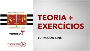 [Curso on-line de Português - Teoria + Exercícios para o Tribunal de Justiça de São Paulo TJSP / VUNESP - Professora Flávia Rita]