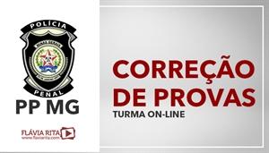 [Curso on-line: Correção de Provas para concursos da Polícia Penal de Minas Gerais - PPMG/ Instituto Selecon]