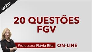 [Curso on-line bônus: 20 questões de português - bancas diversas - Professora Flávia Rita]