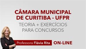 [Curso on-line de Português - Teoria + Exercícios para o concurso da Câmara Municipal de Curitiba CMC - UFPR - Professora Flávia Rita]