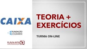 [Curso on-line de Português - Teoria + Exercícios para o Concurso da Caixa Econômica Federal - CEF/ CESGRANRIO - Professora Flávia Rita ]