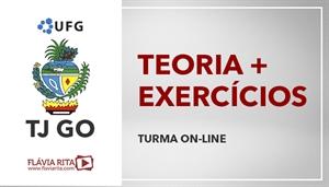 [Curso on-line de Português - Teoria + Exercícios para o Concurso Tribunal de Justiça de Goiás - TJGO / UFG - Professora Flávia Rita ]