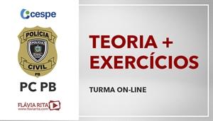 [Curso on-line de Português - Teoria + Exercícios para o Concurso da Polícia Civil da Paraíba - PCPB/ CESPE - Professora Flávia Rita ]