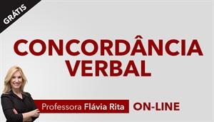 [Curso on-line: Concordância Verbal Gratuito com a Professora Flávia Rita]