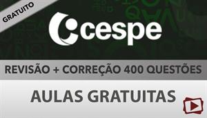 [Aula Gratuita: Português - Revisão + 400 questões para concursos CESPE / 2018 - Professora Flávia Rita]