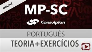 [Curso on-line: Português - Teoria + Exercícios para o concurso do Ministério Público de Santa Catarina - MPSC / Consuplan - Professora Flávia Rita]