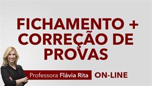 [Curso on-line: Português: Fichamento 2019 + Correção de Provas - Professora Flávia Rita - LP]