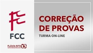 [Curso on-line de Exercícios/Correção de Provas para concursos da banca FCC]