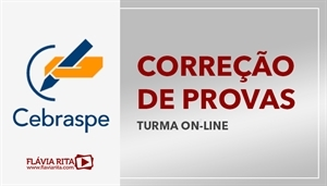 [Curso on-line de Exercícios/Correção de Provas para concursos da banca CESPE]