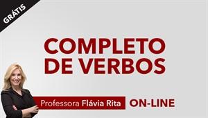 [Curso online: Completo de Verbos - Português / Gratuito - Professora Flávia Rita ]