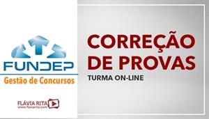 [Curso on-line de Exercícios/Correção de Provas para concursos da banca FUNDEP]