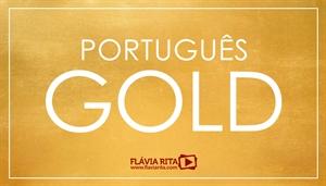 [Curso on-line de Português Gold para Concursos 2020 - Professora Flávia Rita]