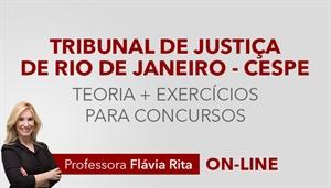 [Curso on-line de Português para o concurso do Tribunal de Justiça do Rio de Janeiro - TJRJ - CESPE - Professora Flávia Rita ]