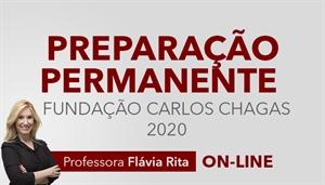 [Curso on-line Preparação Permanente para Concursos FCC 2020]