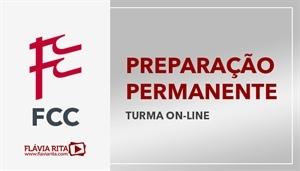 [Curso on-line de Português - Preparação Permanente para Concursos FCC - Professora Flávia Rita]