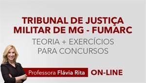 [Curso on-line de Português para o concurso do Tribunal de Justiça Militar de Minas Gerais - TJM MG/FUMARC]