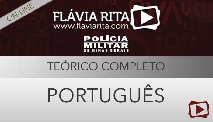 [Aula Gratuita: Português - Teoria para concursos da Polícia Militar de Minas Gerais / PMMG - Todos os cargos - Professora Flávia Rita]