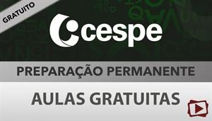 [Aula Gratuita: Português - Preparação Permanente para concursos CESPE / 2018 - Professora Flávia Rita]