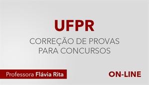 [Curso on-line de Português - Correção de Provas para os concursos da Banca NC-UFPR - Professora Flávia Rita]