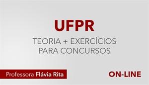 [Curso on-line de Português - Teoria + Exercícios para os concursos da Banca NC-UFPR - Professora Flávia Rita]