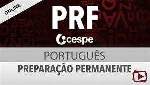 [Curso on-line: Português - Preparação Permanente para concurso da Polícia Rodoviária Federal - PRF / CESPE - Professora Flávia Rita]